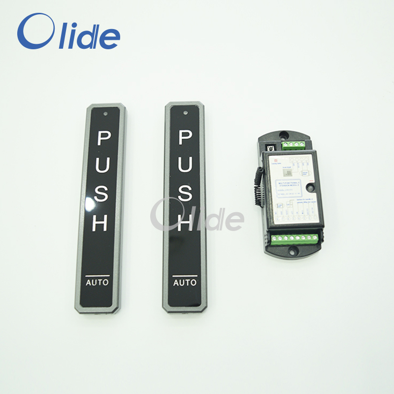 все цены на Automatic Door Wireless Push Button,Electric Door Long Type Black Button For Access Control System онлайн