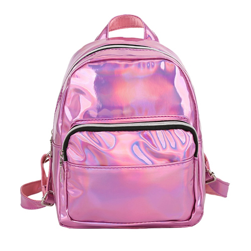 Large Travel Bags Laser fashion Women Casual Backpack Men Girls Bag PU Leather Holographic Backpack School Teenage 2019Large Travel Bags Laser fashion Women Casual Backpack Men Girls Bag PU Leather Holographic Backpack School Teenage 2019