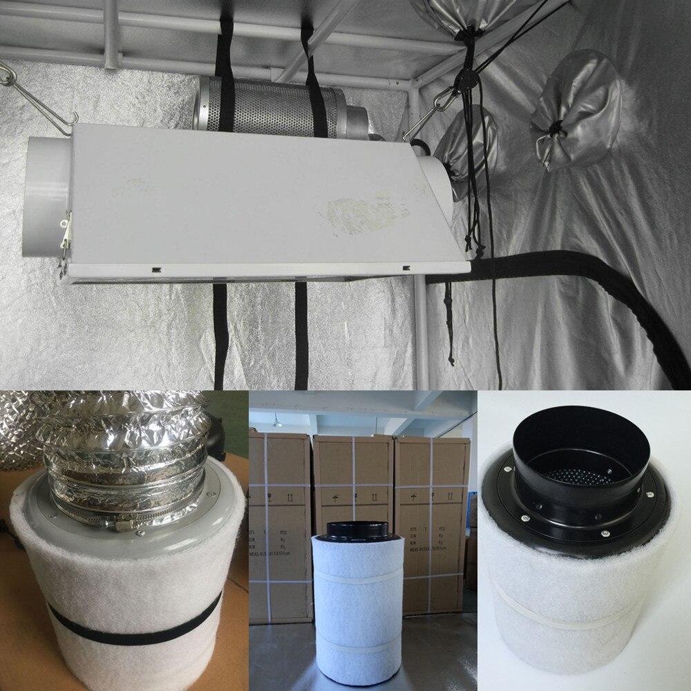 de Carbono 220V Terno para GrowTent com