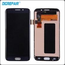 "5.1 ""pulgadas Azul Para Samsung Galaxy S6 Edge G925 G925F G920V Pantalla LCD Pantalla Táctil Digitalizador Asamblea Completa de piezas de Repuesto"