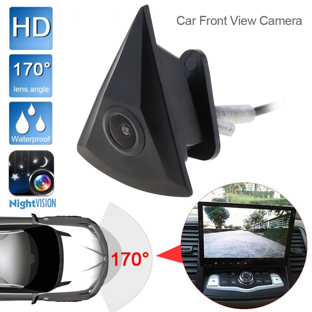 Câmera de visão frontal do carro para vw/volkswagen/golf/jetta/touareg/passat/polo/tiguan hd visão noturna 170 de largura grau câmera frontal do carro