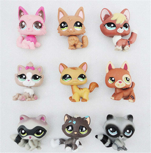 Littlest Pet Shop 4 6 Cm Bonito Do Animal Pvc De Desenhos Animados