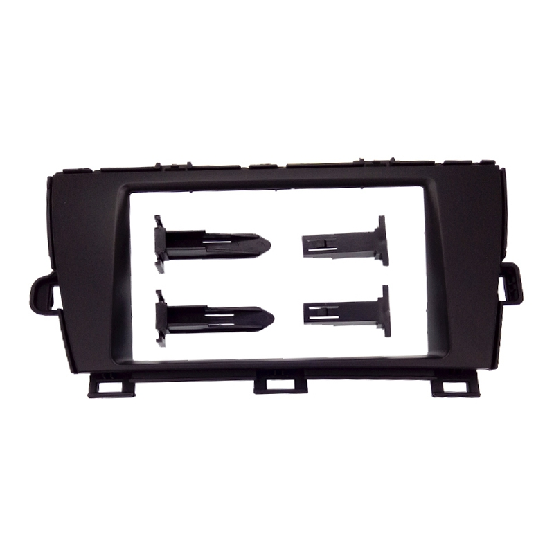 2 din car radio fascia for toyota prius 2010 rhd auto. Black Bedroom Furniture Sets. Home Design Ideas