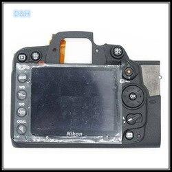 Oryginalna tylna tylna pokrywa przypadku powłoki Assy dla Nikon D7000 z wyświetlaczem LCD  przycisk aparatu naprawy części