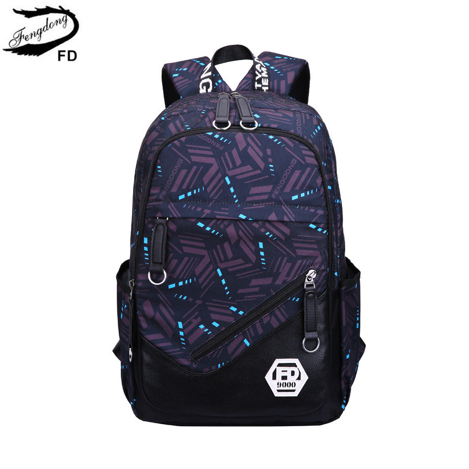 FengDong kids school backpack boy bag man woman back pack male laptop backpack men travel bags boys school bags laptop bag 15.6 roblox game casual backpack for teenagers kids boys children student school bags travel shoulder bag unisex laptop bags