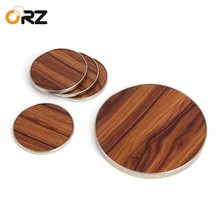 ORZ 5PCS Round Pot Holder Coaster Table Cushion Placemat Wooden Tea Coffee Cup Mat Kitchen Heat Resistant Mat Table Decor Pad 6pcs lot round cork coaster heat resistant cup table placemats mug mat coffee tea hot drink posavasos placemat kitchen decor