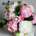 Artificial bouquet PINK bouquet wedding ramo de novia bouquet fleur mariage bruidsboeket bridal bouquet Bridesmaid Flowers