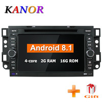 KANOR Android 7,1 2din радио автомобиль Chevrolet Epica Captiva 2006 2007 2008 2009 2010 2011 2012 WI FI видео мультимедийный плеер