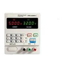 Высокое качество DC 32 В 5A Питание регулируемый 4 цифры ЖК дисплей Дисплей цифровой мобильный телефон сигнал ремонт метр с USB Интерфейс