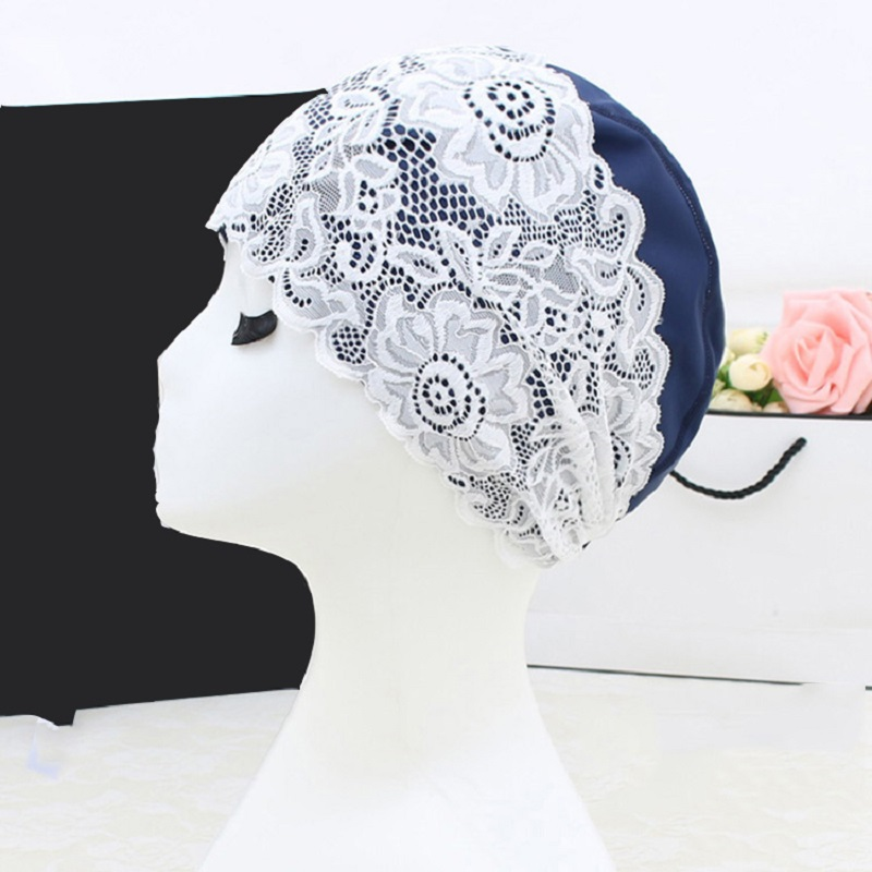 2018 Sexy Swim Pool Hat flower Lace Swimming Cap Women Ladies children cute Bathing caps for Long Hair Ear Protection PLUS Size