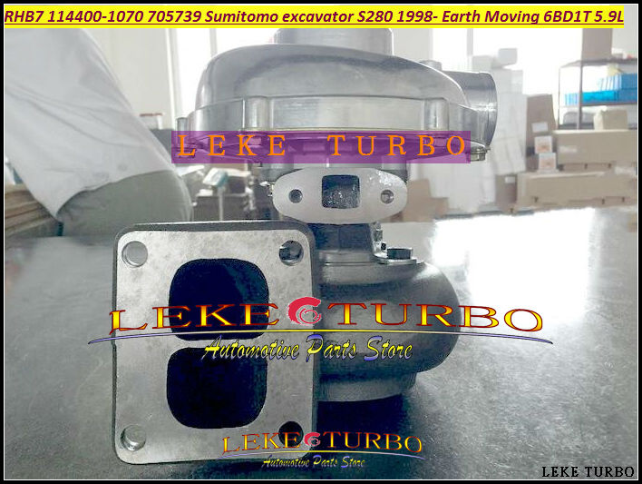 RHB7 114400-1070 1144001070 705739-5001S 705739 Turbo Turbocharger For Sumitomo excavator S280 280 083 Earth Moving 6BD1 6BD1T