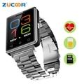 Смарт Наручные Часы-Телефон Наручные Часы G7 Поддержка 2 Г SIM TF Карты памяти Монитор Сердечного ритма Bluetooth Шагомер Для iOS Android мужчины