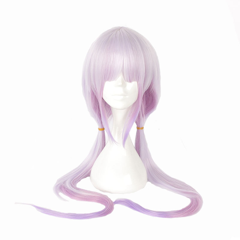 Mcoser Kobayashi San Chi No Maid Dragon  Long Straight Synthetic Hair 100% High Temperature Fiber Mix Color