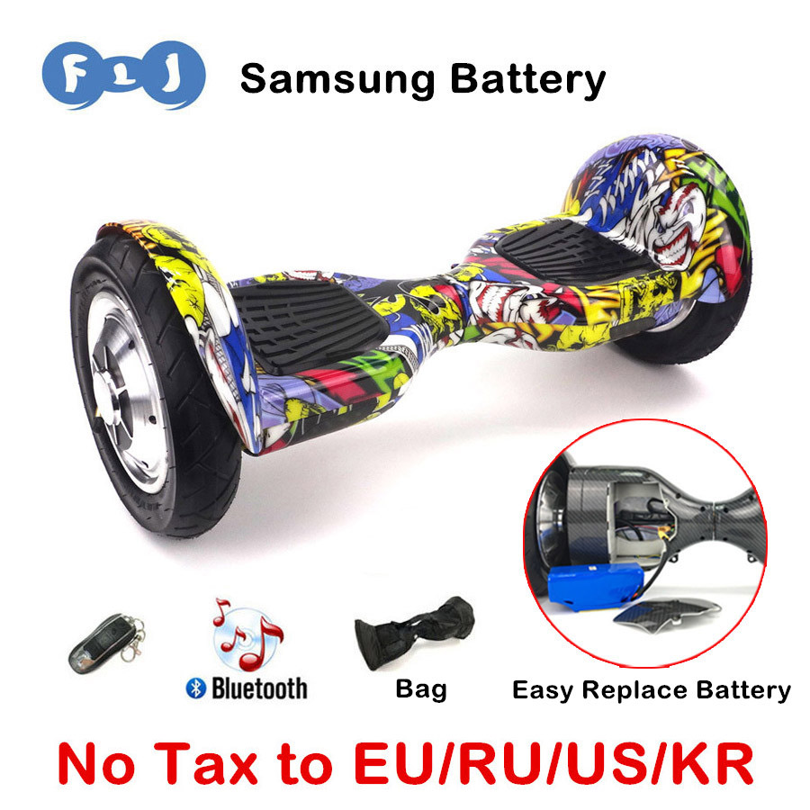 Balance Board With Wheels: Hoverboard 10 Inch 2 Wheels Smart Balance Scooter Hover