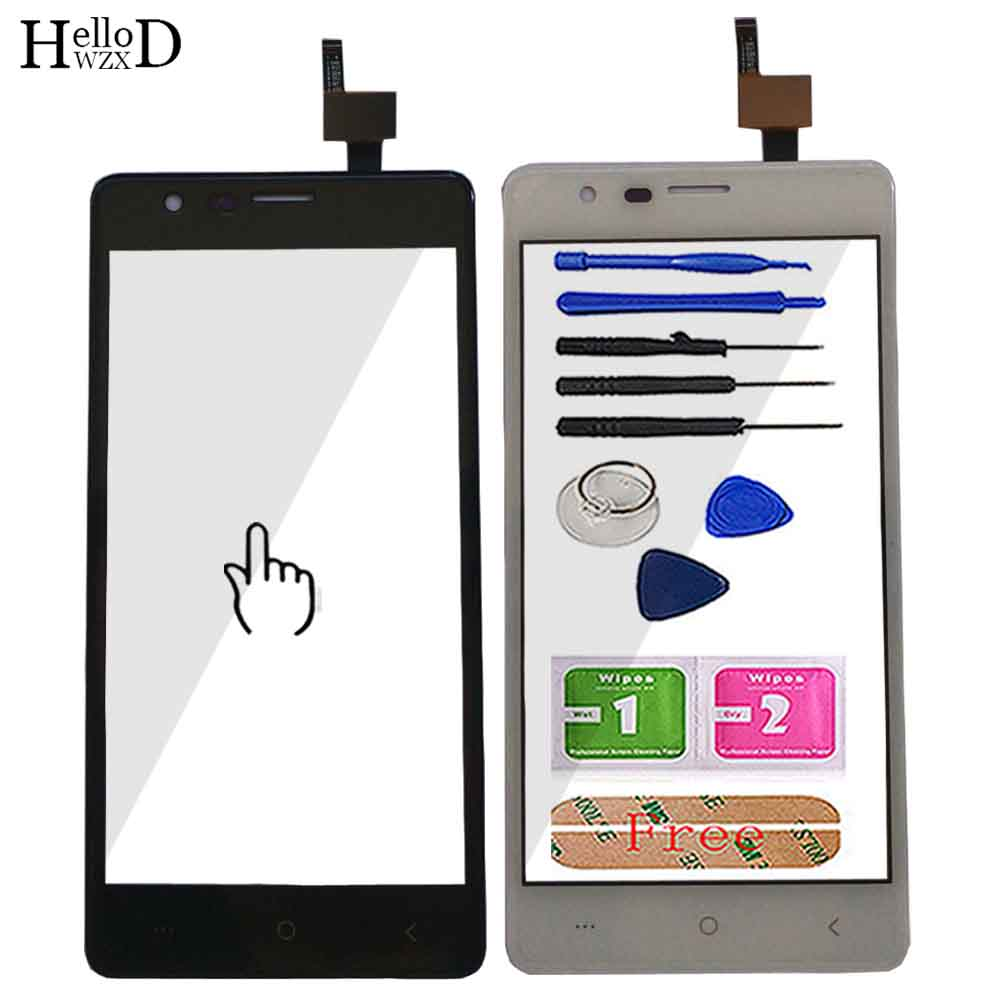 5.0'' Mobile Touch Screen For BQ BQ 5001L BQ-5001L BQ5001L Touch Screen Sensor Front Glass Digitizer TouchScreen Tools Adhesive
