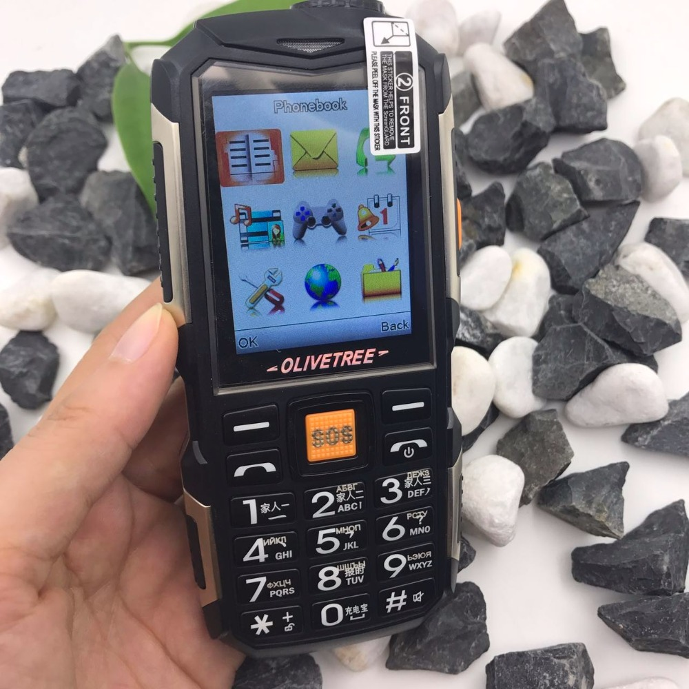 Outdoor rugged <font><b>power</b></font> bank Tachograph internet one key torch loud sound big key slim edge long standby mobile phone P416