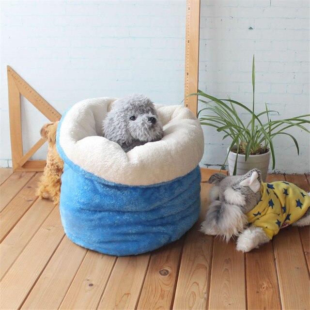 Carino pet Sacco A Pelo Caldo Molle Del Gatto Del Cane Letto Lettiera Pet Casa B