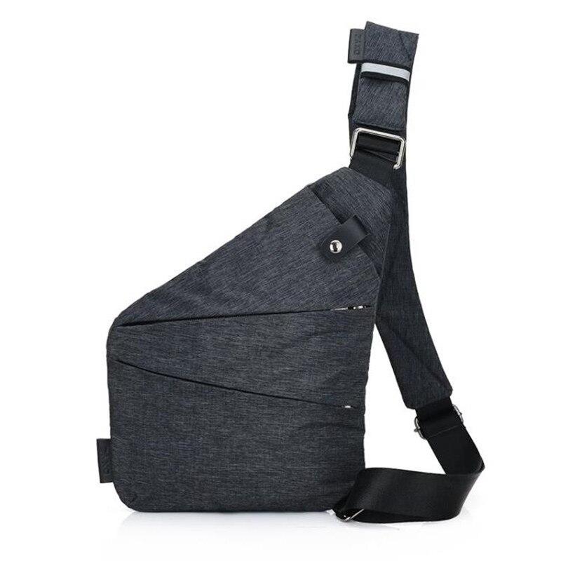 Tela Sacchetto Degli Uomini di Marca di Nuovo Modo di nylon Impermeabile Oxford Messenger Bag Cartella di Affari Casuale Crossbody borsa a tracolla maschile