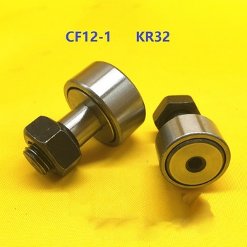 50pcs/lot CF12-1 KR32 Track Rollers Stud type Needle Roller Bearing CAM followers for CNC router
