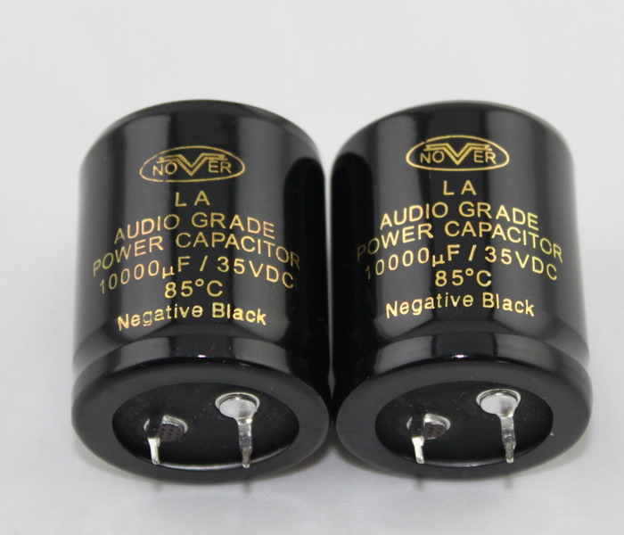 YJ 2pcs NOVER High-end Cap 10000uf 35V Capacitors 30*35MM Audio  Capacitors