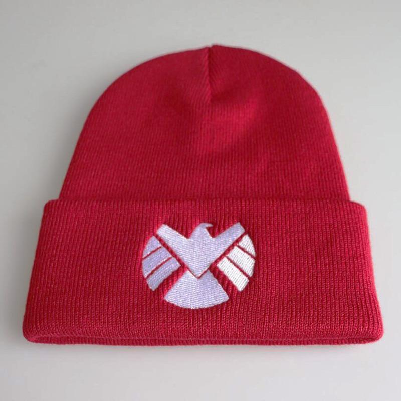 Hat Marvel Agents of S.H.I.E.L.D Knit Beanie Cap Black