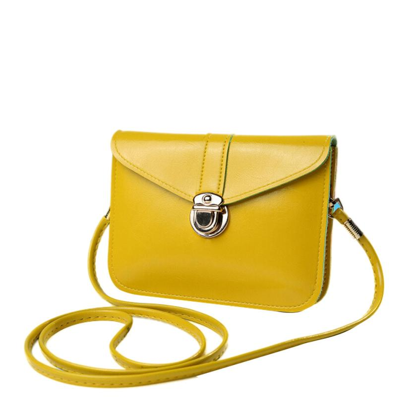 Fashion Women Crossbody Bag Zero Purse Bag Leather Handbag Single Shoulder Messenger Phone Bag Dropshipping ma31