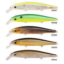 SMART Minnow Bait 110mm 17g Floating0-1.5m Fishing Lure VMC Hook Isca Artificial Para Pesca Leurre Souple Peche Fishing Tackle