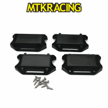 MTKRACING For HONDA XADV 25MM / 28MM Motorcycle  Bumper anti-drop glue Protection Rubber Modified Accessories