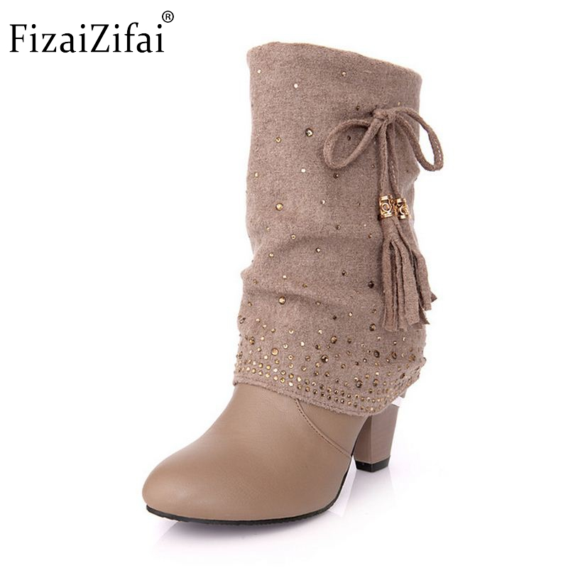 Popular Low Heel Dress Boots Women-Buy Cheap Low Heel Dress Boots ...