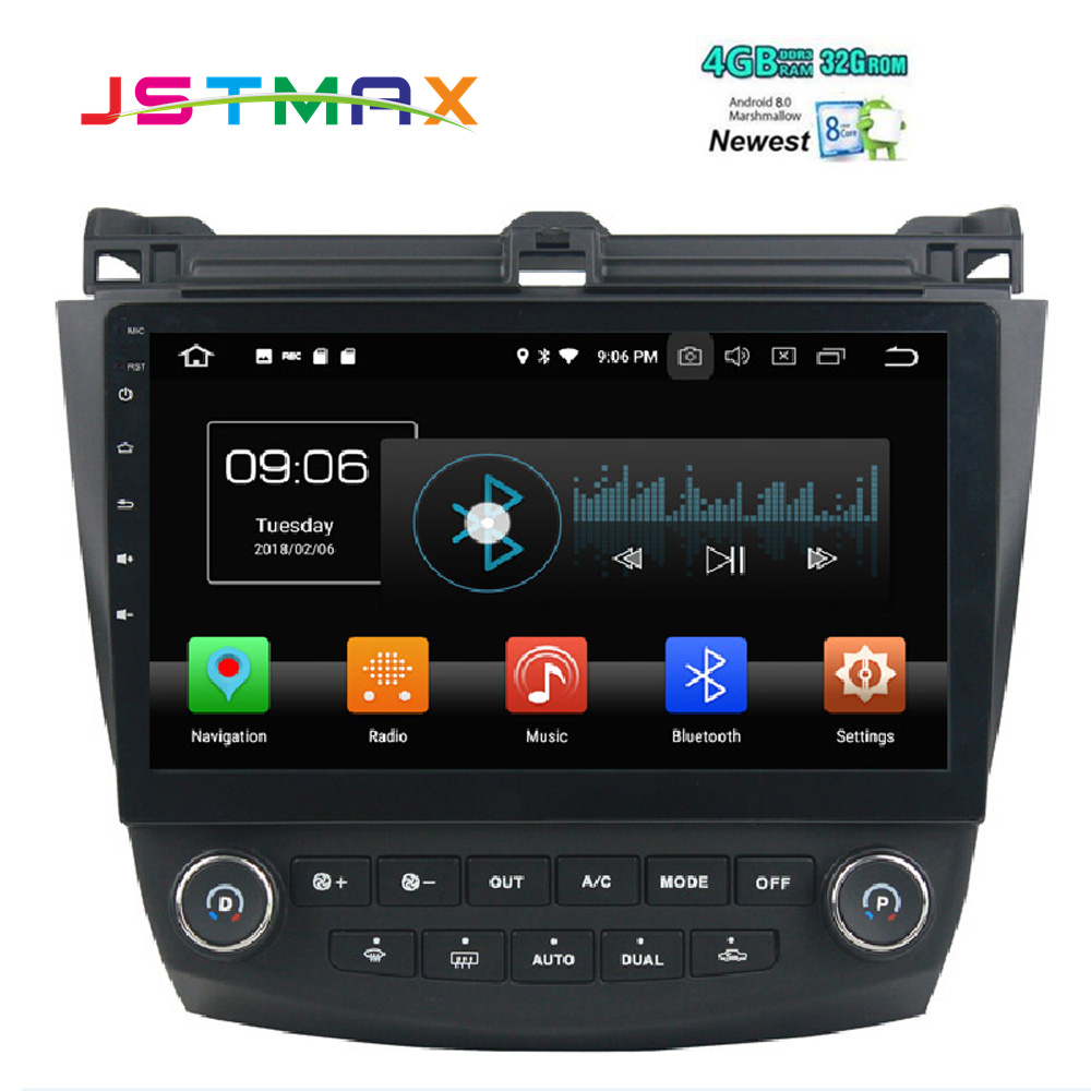10 1 octa core px5 android 8 0 car gps radio for honda. Black Bedroom Furniture Sets. Home Design Ideas