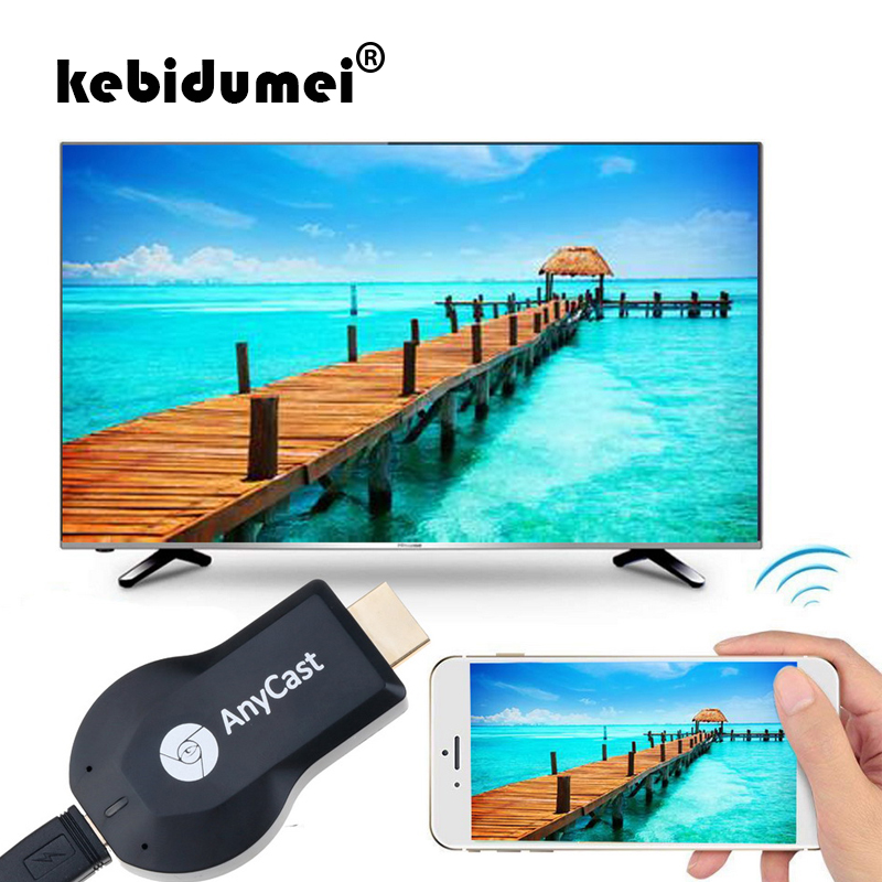 kebidumei TV stick M2 for Anycast m4 plus for mirroring multiple TV stick Adapter Mini PC HDMI WiFi Dongle 1080P