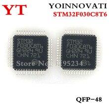 50 teile/los STM32F030C8T6 32F030C8T6 LQFP 48 IC beste qualität.