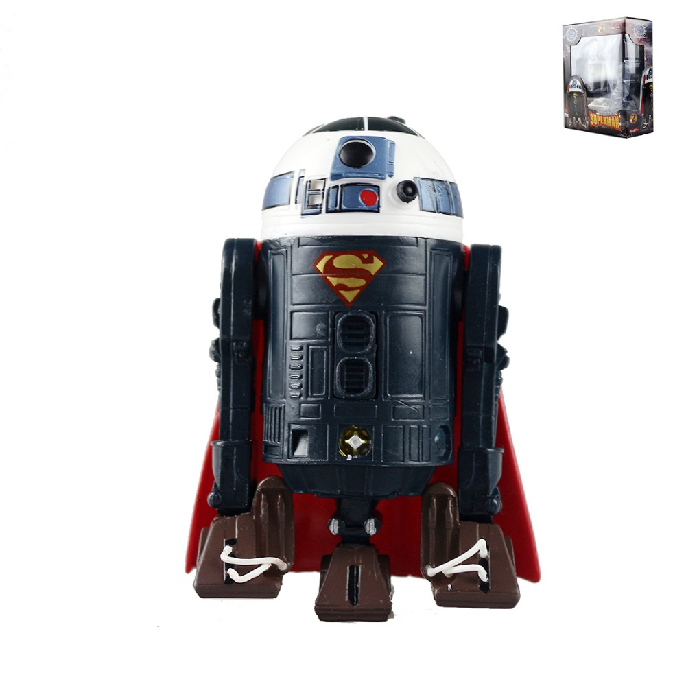 Hot Toys Movie R2D2 Cosplay DC Comics Superman Super Man Action Figure Collectible Model Toys Hasbro101 Free Shipping free shipping cool big 12 justice league of america jla super man superman movie man of steel pvc action figure collection toy
