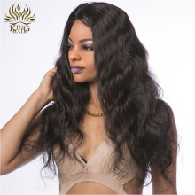 King Hair Body Wave Lace Front Human Hair Wigs Natural Color Brazilian Remy Hair Lace Wigs For Black Women With Baby Hair