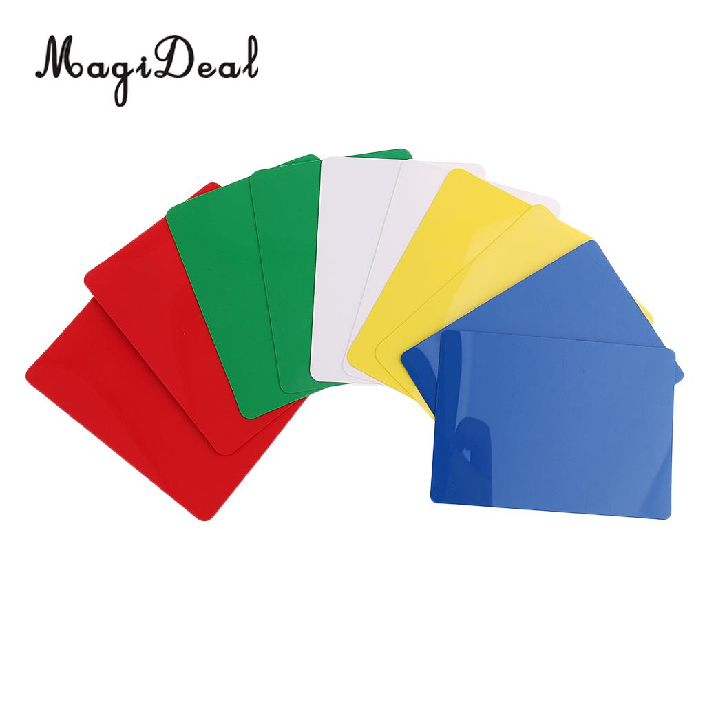 MagiDeal Novelty 10Pcs Poker Size Cut Cards Mutil for Poker Blackjack Games Casino Games Props Pub Club Party Collectable Gifts ...