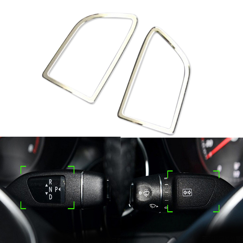 2014 2015 For Mercedes-Benz CLA-Class C117 W117 Interior Accessories Gear Shiftl&wiper Blade Button Cover Mercedes-Benz CLA-класс