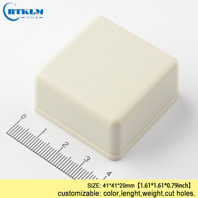 abs plastic project case electronic housing products 41 41 20mm diy rh aliexpress com