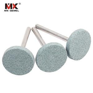 Image 4 - Juego de piedra de montaje abrasiva para Dremel, herramientas rotativas, cabezal de rueda de piedra de molienda, accesorios de herramientas Dremel, 15 unidades