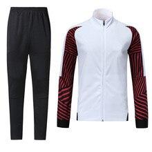 Индивидуальный Логотип, спортивный костюм для футбола, тренировочная форма для зимнего футбола, куртка с длинными рукавами, светильник, куртка lh0001
