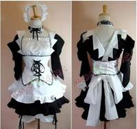 Maid Sama Kaichou Wa Maid Sama Misaki AyuzawaUniform Cosplay Costume Lolita Party Dress Any Size