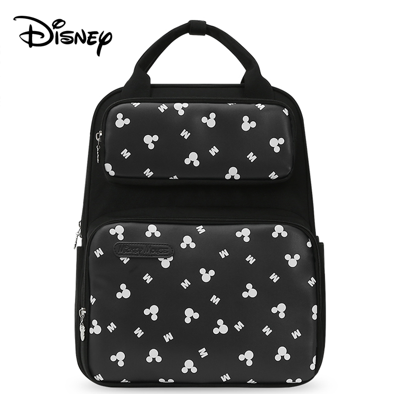 Disney USB Diaper Bag Baby Care Backpack Mummy Maternity Wet Bag Baby Pregnant Bag Fashion large capacity travel bags women