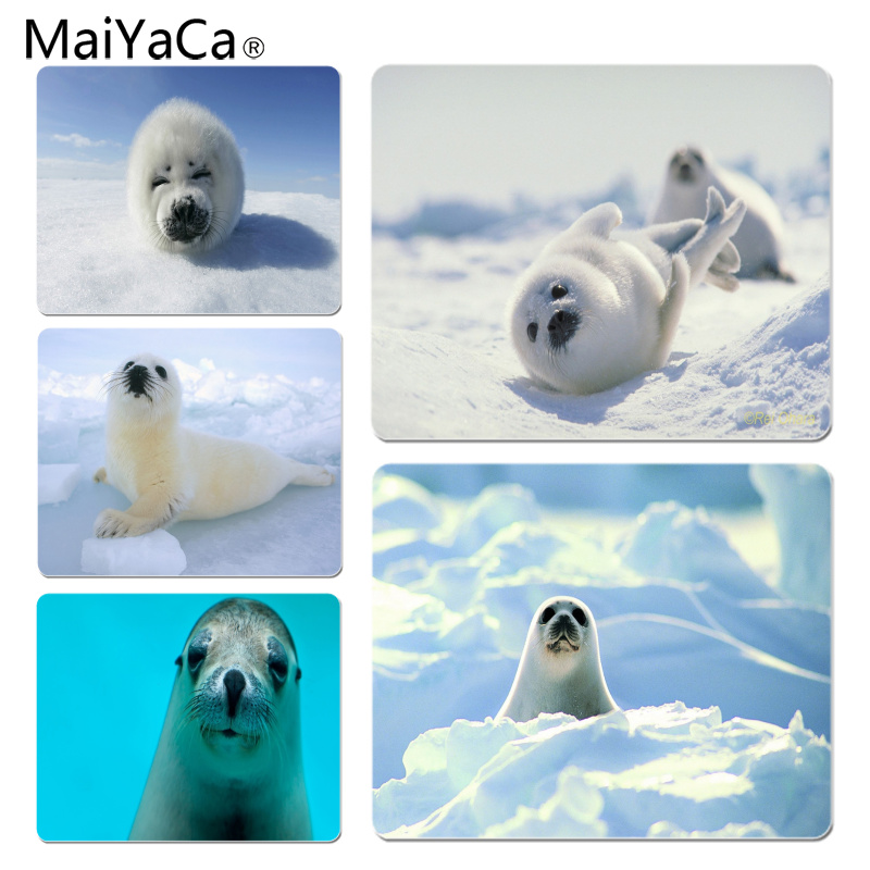 MaiYaCa Seal Large Mouse pad PC Computer mat Size for 18x22x0.2cm Gaming Mousepads