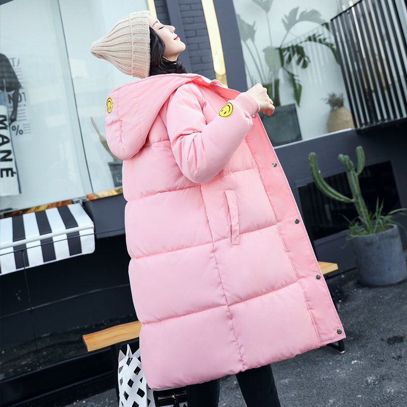 New Arrival Hooded Women Parkas Snow Wear Fashion Thick Long Women Winter Jacket Down Cotton Padded Warm Female Outwear Coat BL5 korean winter jacket women large size long coat female snow wear cotton parkas hooded thick warm coats and jackets 7 colors