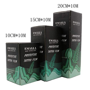 """Image 5 - Tattoo Bandage Roll   EMALLA 6"""" x 10 Yard Tattoo Film AfterCare Protective Waterproof,Tattoo Aftercare Product for Initial Heal"""