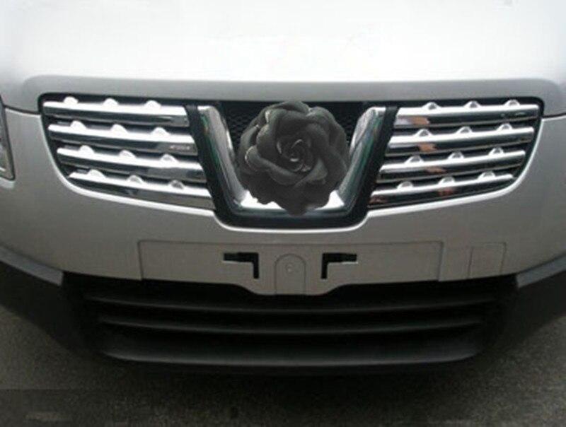Voiture style ABS calandre autour de garniture de course grilles garniture pour Nissan Qashqai J10 2008-2015 accessoires de voiture - 3