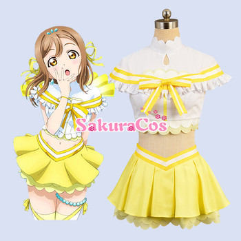 New Anime LoveLive! Sunshine! Aqours Koibininaritai Aquarium All Members Uniforms Cosplay Costume Halloween Costumes for Women 2
