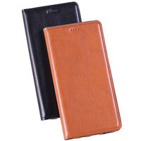 Genuine Leather Case For Xiaomi Redmi 4X Flip Stent Card Slots TPU Base Classic Tabby Genuine