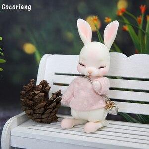 Image 2 - בגדי BJD 1/12 רק עבור Cocoriang Tobi ורוד T חולצה מתוק חיות מחמד הלבשה YF12 383