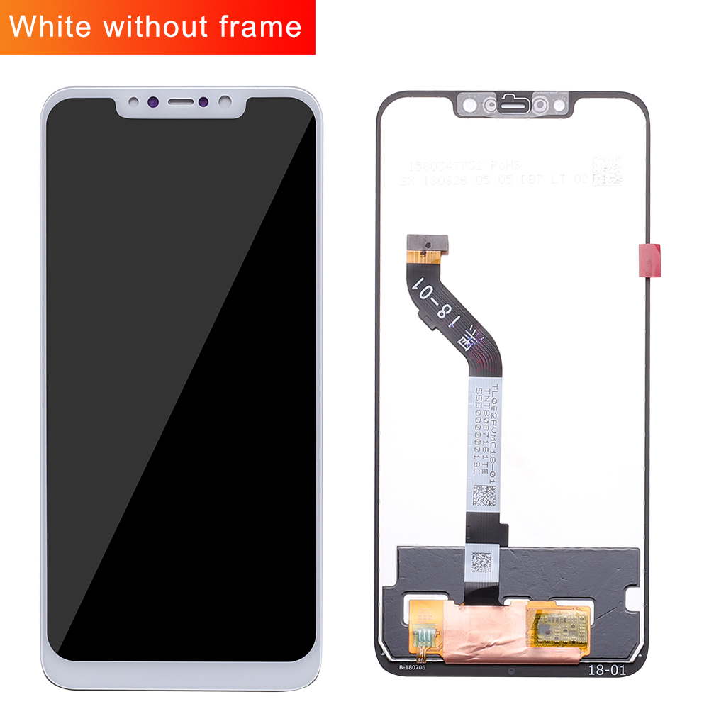 "Image 2 - 100% Original+Frame For 6.18"" Xiaomi poco F1 LCD Display Touch Screen Digitizer Assembly for xiaomi mi Pocophone F1(10 point)-in Mobile Phone LCD Screens from Cellphones & Telecommunications"