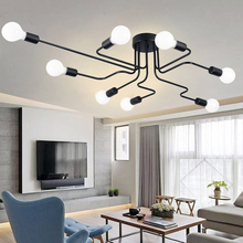 Ceiling Lamp Ceiling Lights Luminaria Led  Light For Living Room Personality Industrial Home Lighting Fixture Lamparas De Techo art deco ceiling lamp porch lamp indoor lighting led home light living room lights modern lighting fixture lampen luminaria